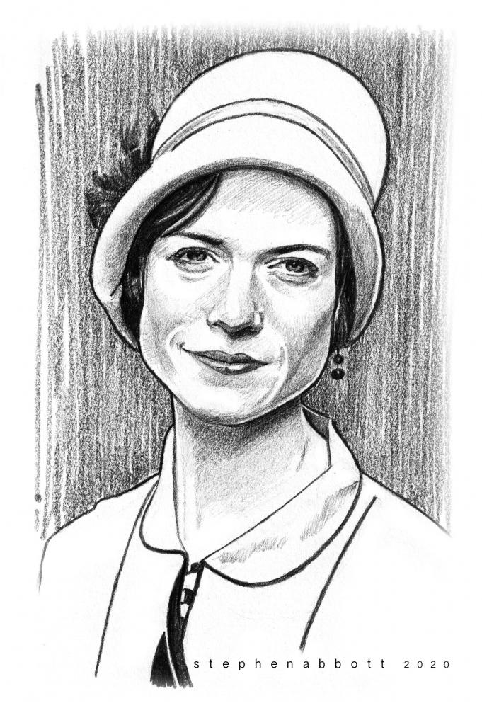 Rose Leslie by StephenAbbott